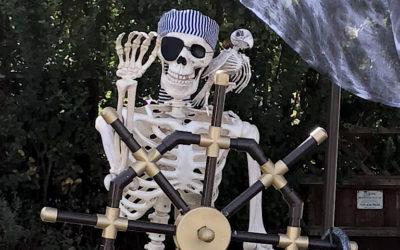 Halloween: Pirate Display
