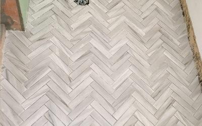 Master Bathroom Remodel – Tile & Shower Door