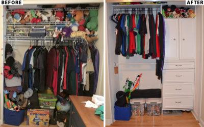 Closet Organizers and Doors